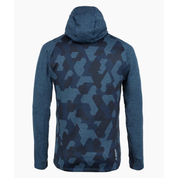 Pánska mikina Salewa Boe Merino navy blazer 28201-3960