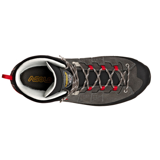 Topánky Asolo Traverse GV MM graphite/red/A619