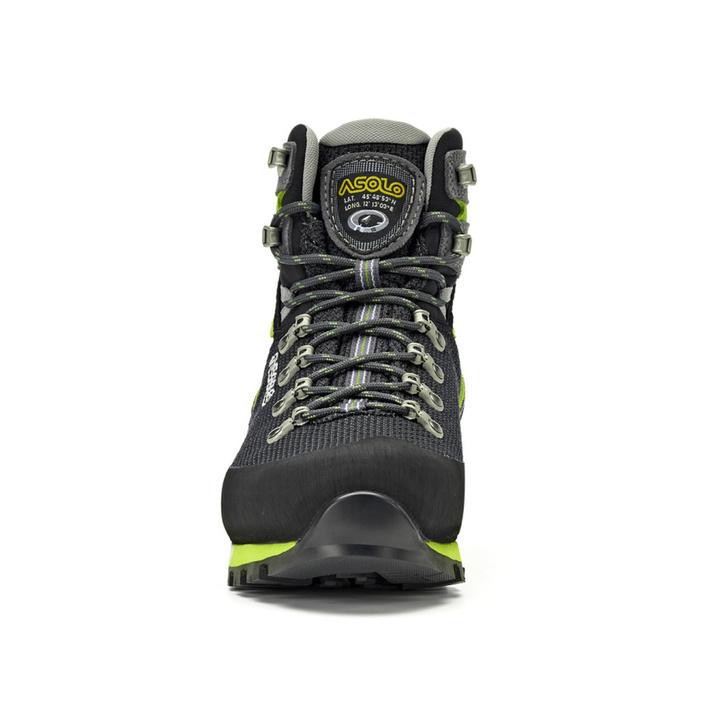 Pánske topánky Asolo Corax GV Black / Green Lime/A561