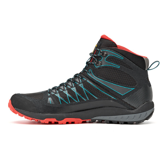 Topánky Asolo Grid Mid GV MM black/red/A392