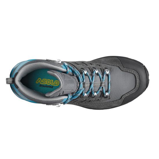 Dámske zimný topánky Asolo Narvik GV ML smoky grey / blue moon/A935
