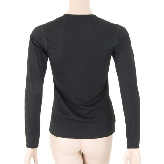 Dámske triko Sensor Merino Wool Active čierne 11109024