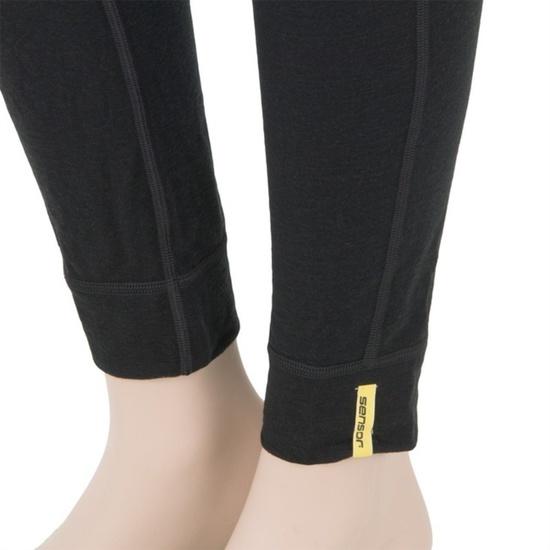 Dámske spodky Sensor Merino Wool Active čierne 11109022
