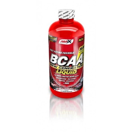 Amix BCAA New Generation liquid príchuť: Citrón-limetka