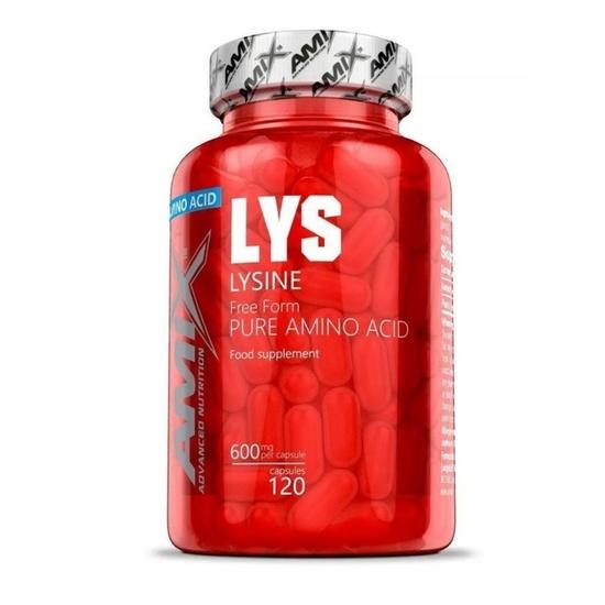 Amix L-Lysine 600mg, 120 kapsúl