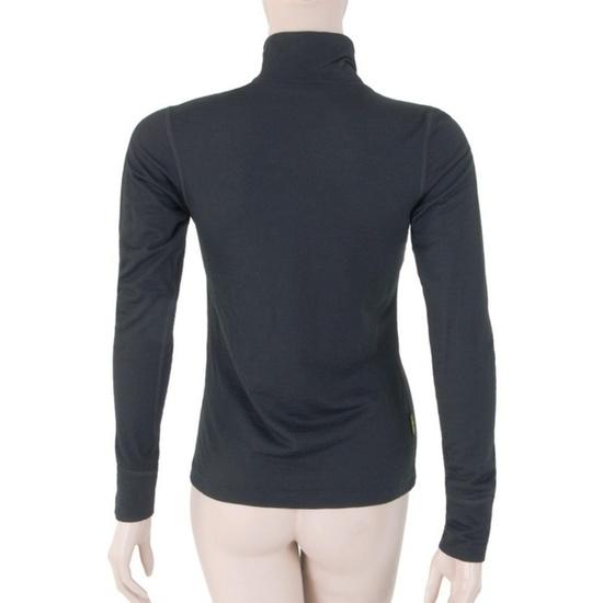 Dámske triko Sensor Merino Wool Active čierne 11109018