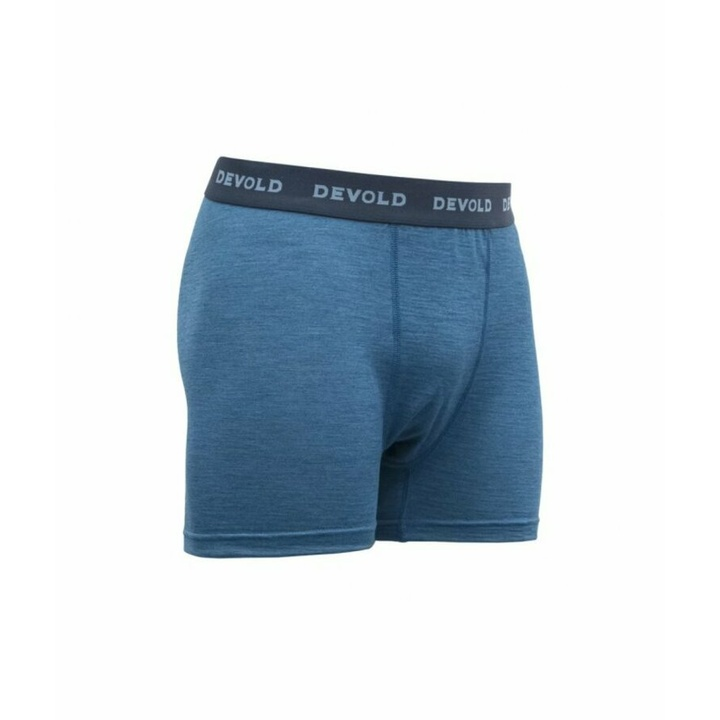 Pánske ľahké pohodlné vlnené boxerky Devold Breeze GO 181 145 A 258A, modré
