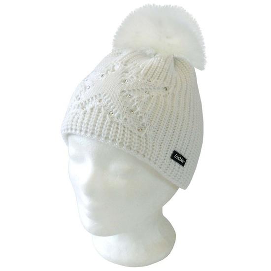 Čiapka Eisbär Chantal Lux Crystal MÜ 388009/408009 farba : biela