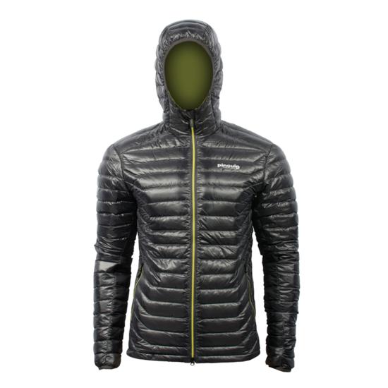 Bunda Pinguin Hill Hoody jacket Black