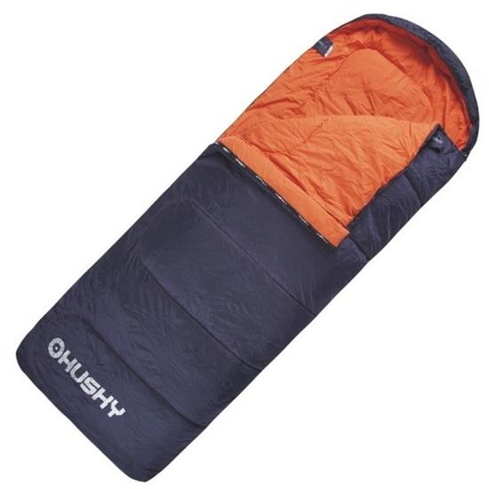 Spacie vrece dekový Husky Gizmo -5°C sivý / oranžový
