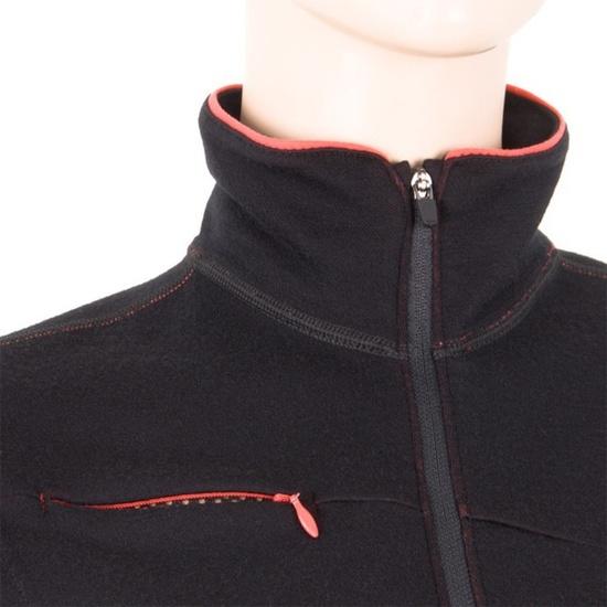 Dámska mikina Sensor Merino Wool čierna 12110048
