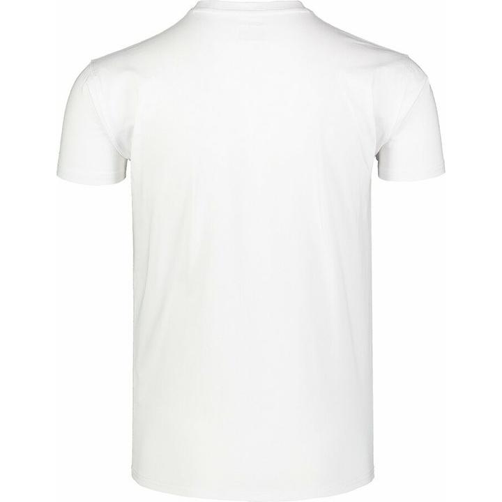 Pánske bavlnené tričko Nordblanc SARMY biele NBSMT7390_BLA