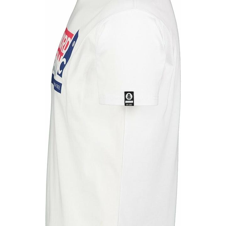 Pánske bavlnené tričko Nordblanc WAL LON biele NBSMT7391_BLA
