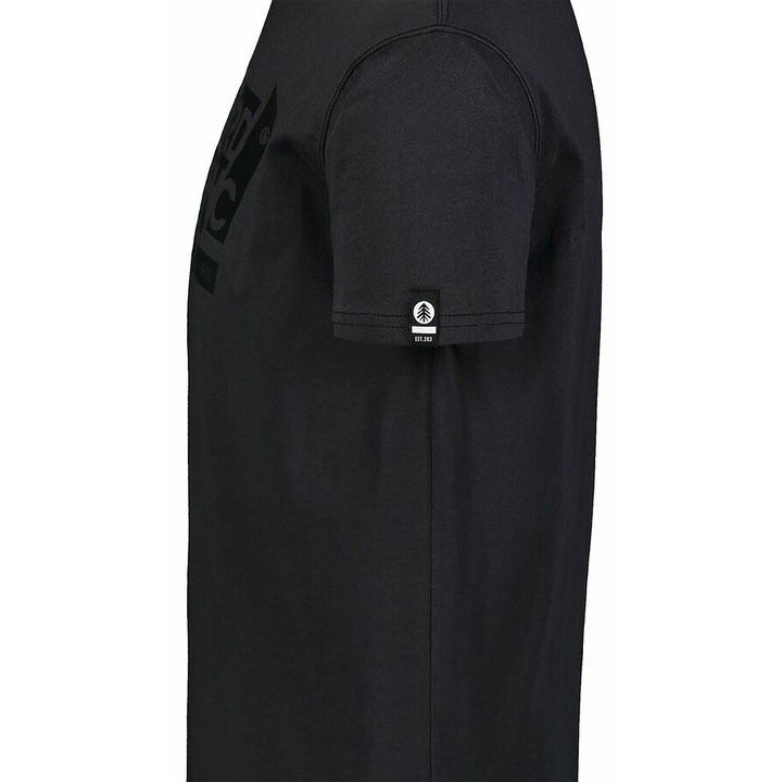 Pánske bavlnené tričko Nordblanc WAL LON čierne NBSMT7391_CRN
