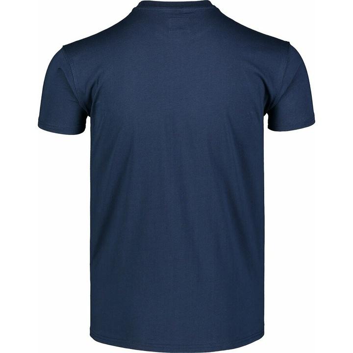 Pánske bavlnené tričko Nordblanc WAL LON modrá NBSMT7391_MOB