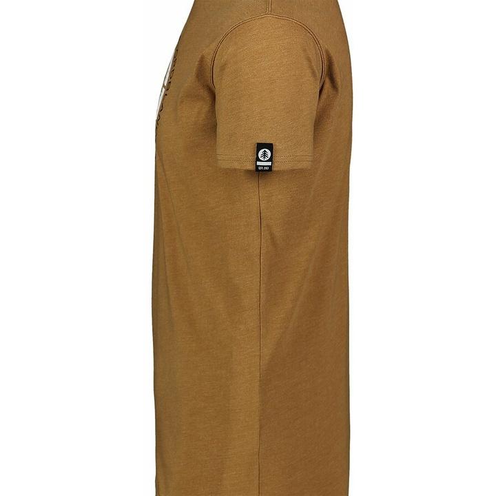 Pánske bavlnené tričko Nordblanc TRICOLOR hnedá NBSMT7397_PUH