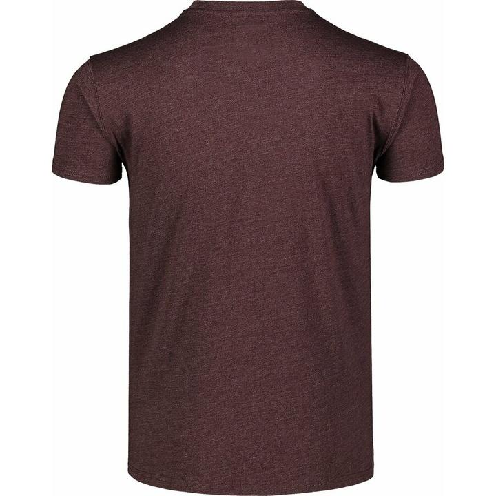 Pánske bavlnené tričko Nordblanc TRICOLOR hnedá NBSMT7397_RUH