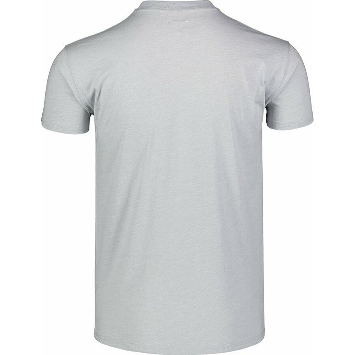 Pánske bavlnené tričko Nordblanc DEKONŠTRUKOVANÉ šedé NBSMT7398_SSM