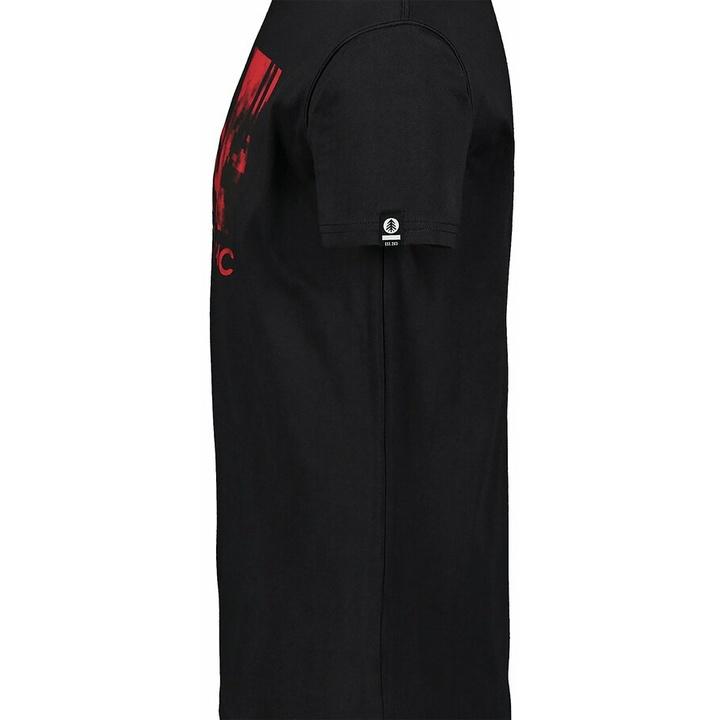 Pánske bavlnené tričko Nordblanc TREETOP čierne NBSMT7399_CRN