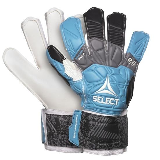 Brankárske rukavice Select GK gloves 22 Flexi Grip Flat cut modro čierna