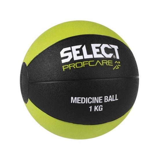 ťažký lopta Select Medicine ball 1kg čierno zelená
