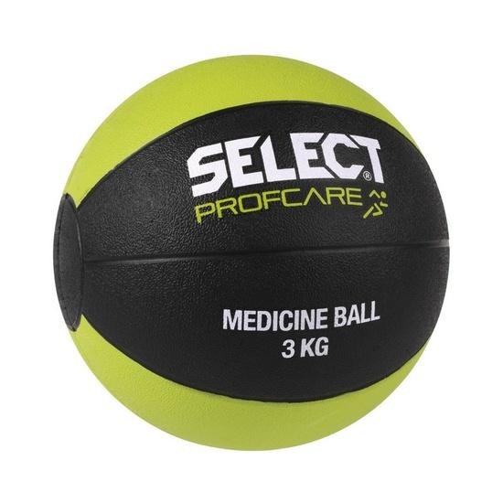 ťažký lopta Select Medicine ball 3kg čierno zelená