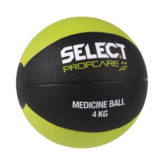 ťažký lopta Select Medicine ball 4kg čierno zelená