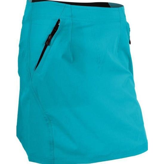 Dámska cyklistická sukňa Silvini INVIO WS859 turquoise