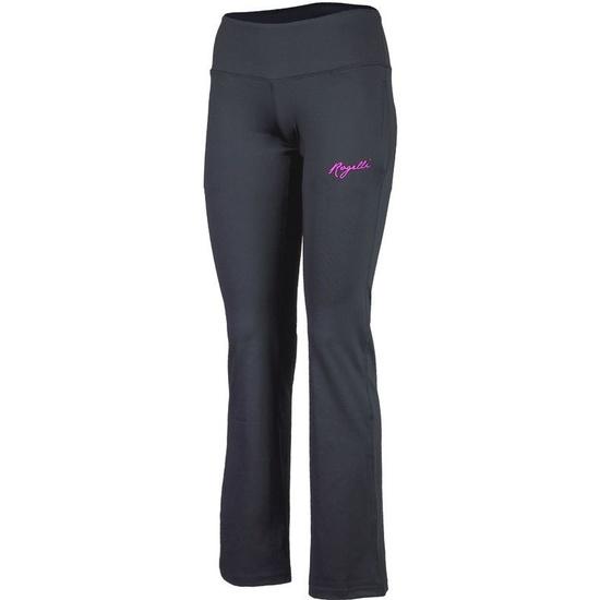 Dámske fitness nohavice Rogelli Fadya čierno-ružové 050.208