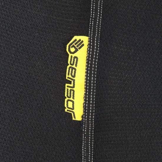 Pánske 3/4 spodky Sensor Double Face čierne 1003023-02