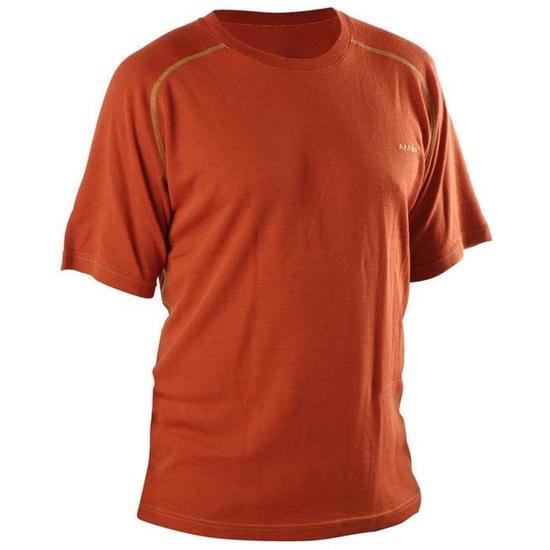 Tričko AFARS Merino krátky rukáv Orange