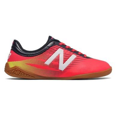 Detské topánky New Balance JSFUDICG červená - gamisport.sk 9f557a388c8