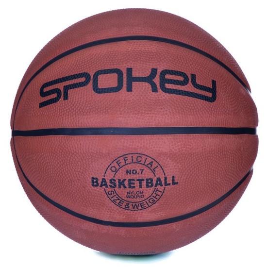 Basketbalový lopta Spokey BRAZIRO II hnedý veľkosť 5