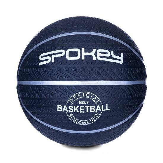 Basketbalový lopta Spokey MAGIC modrý s bielym, veľkosť 7