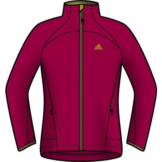 Mikina adidas Hiking 1Side Fleece W O05909