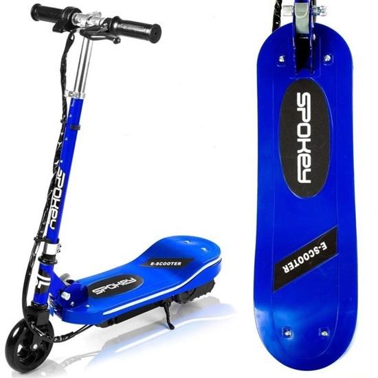Spokey ATIK Elektrická kolobežka modrá do 70 kg