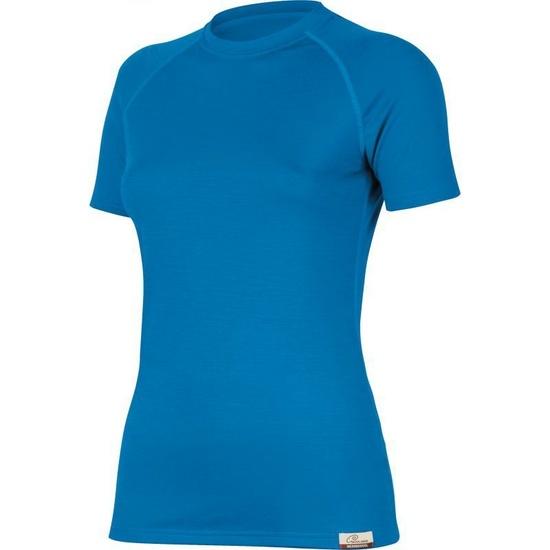 Merino triko Lasting ALEA 5151 modré vlnené