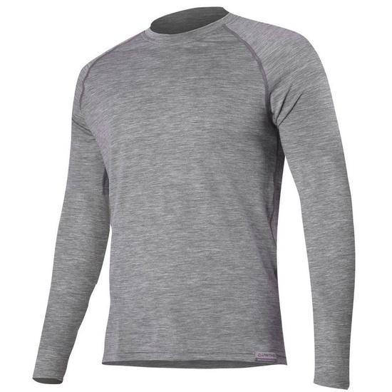 Merino Tričko Lasting ATAR 8484 šedé vlnené