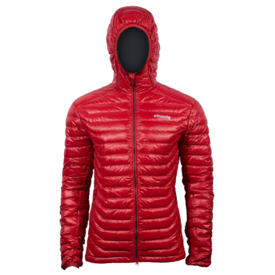 Bunda Pinguin Hill Hoody jacket Red