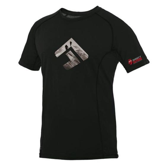 Tričko Direct Alpine Furry black (brand 20 let)