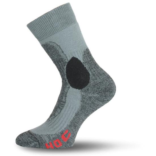 Ponožky Lasting HOC farba : siva