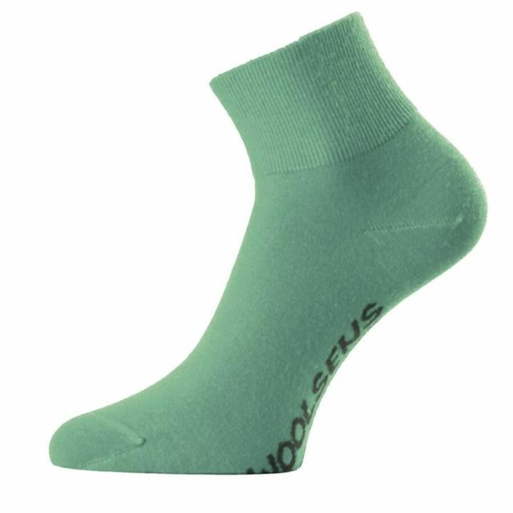 Ponožky Lasting merino FWB-560 zelené
