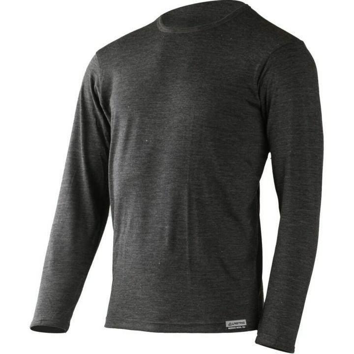 Pánske merino triko Lasting ALAN-8169 šedé