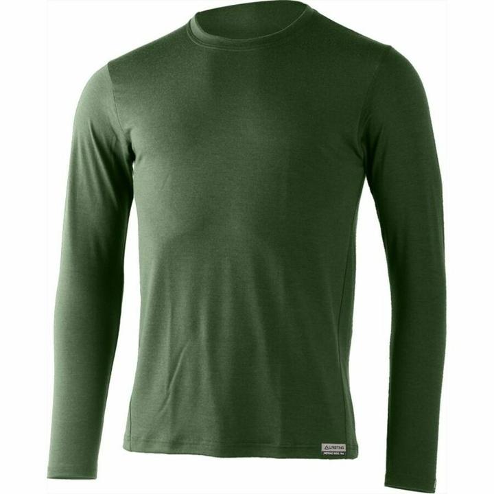 Pánske merino triko Lasting Alan zelené