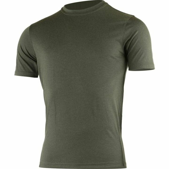 Pánske merino triko Lasting LAMAR-6969 zelené