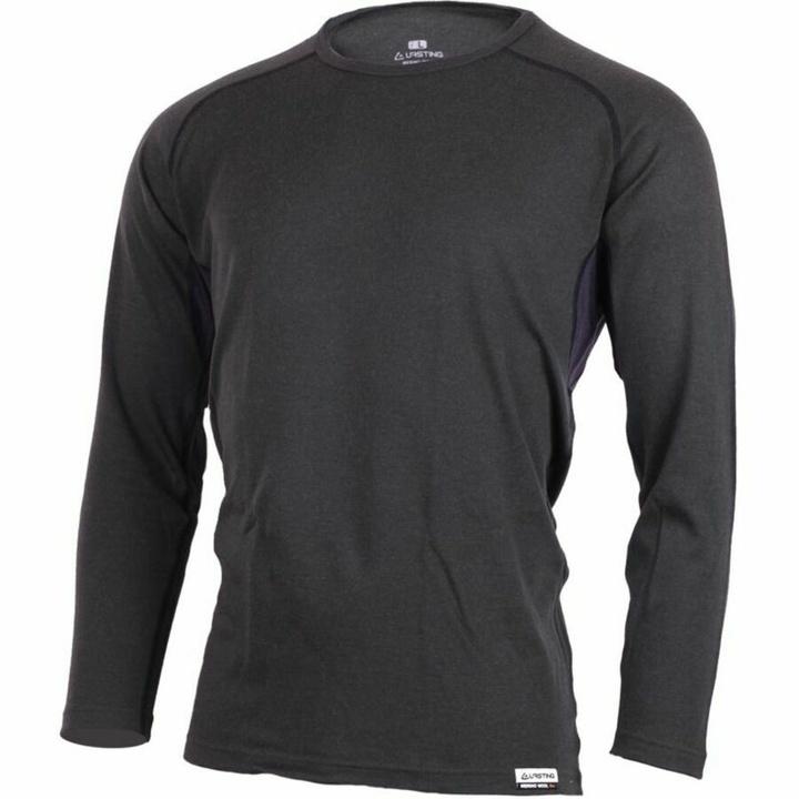 Pánske tričko merino Lasting MARIO-8169 šedé