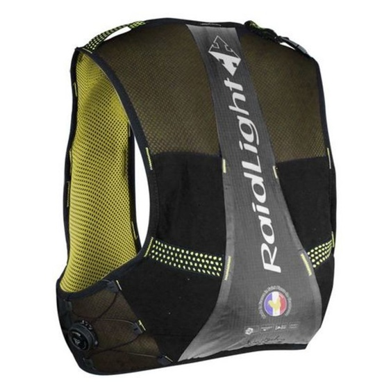 Bežecká vesta Raidlight Gilet Responsive 3L + 2*350ml Black