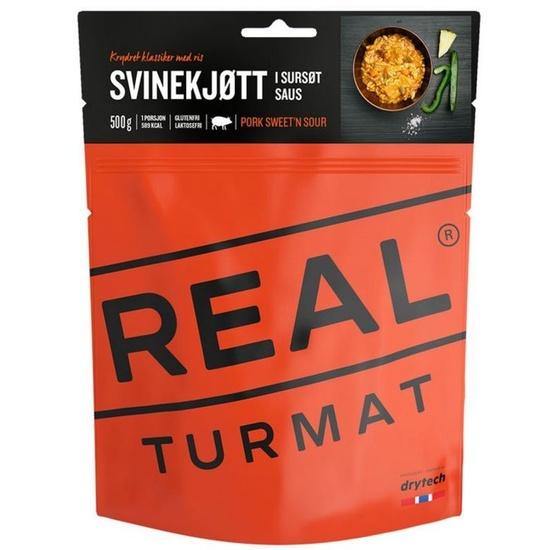 Real Turmat bravčové s ryžou vo sladkokyslej omáčke, 127 g