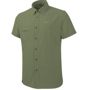 Košeľa Salewa FANES Puez MINI CHECK DRY M S/S SHIRT 26587-5758, Salewa