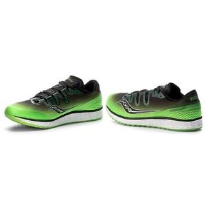 Pánske bežecké topánky Saucony Freedom iso Slime / Black, Saucony